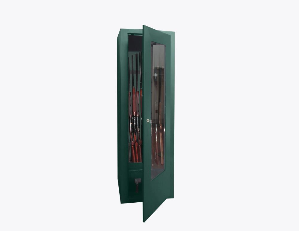 armadio-portafucili-PFV-250-T-fucili-linea-key-con-vetro-acciaio-sicura-casseforti