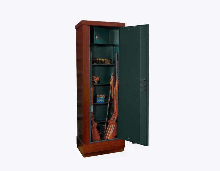 armadio-portafucili-PRLV-fucili-linea-wood-interno-allestimento-c-acciaio-rivestito-legno-sicura-casseforti